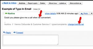 Typo Bounty Email Signature